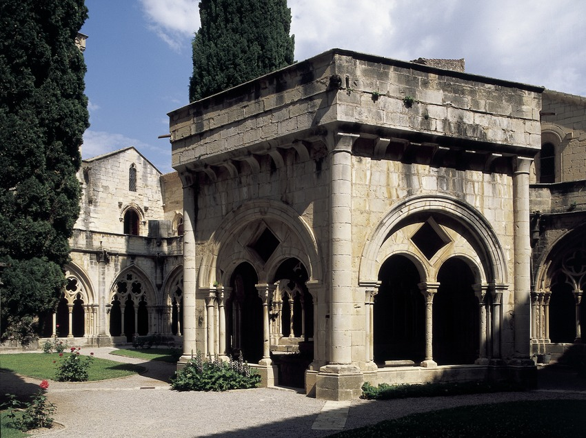 Washing room of the Royal Monastery of Santa Maria de Poblet