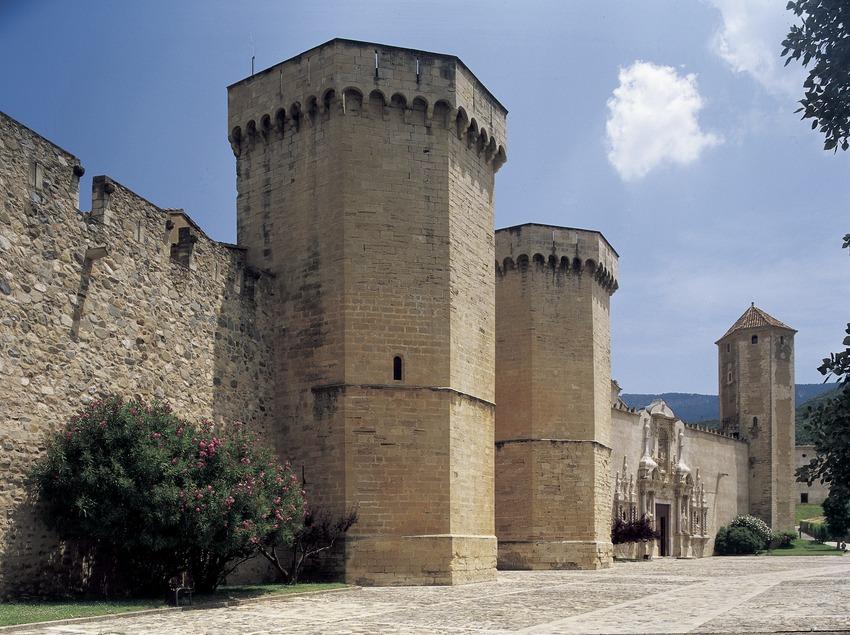 Porta Reial (segle XIV) del Reial Monestir de Santa Maria de Poblet  (Imagen M.A.S.)