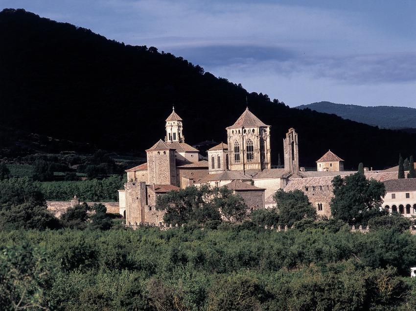 Reial Monestir de Santa Maria de Poblet  (Imagen M.A.S.)