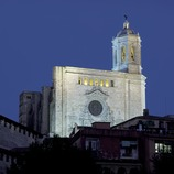 Night-time view of the cathedral of Santa Maria.  (Imagen M.A.S.)