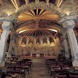 Interior of the Colonia Güell crypt