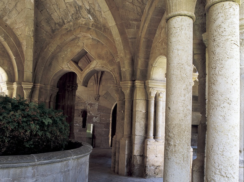 Lavabo du monastère royal Santes Creus  (Imagen M.A.S.)