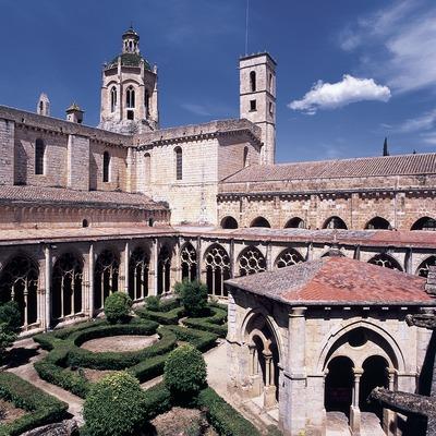 Ala del claustro del Real Monasterio de Santes Creus  (Imagen M.A.S.)