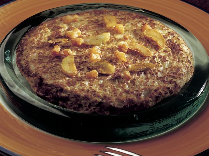 Trinxat de la Cerdanya (cabbage and potato stew)