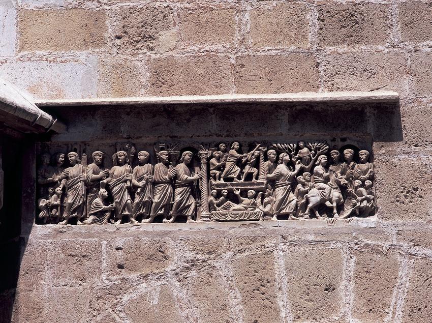 Sepulcro paleocristiano de la catedral de Tarragona.  (Imagen M.A.S.)