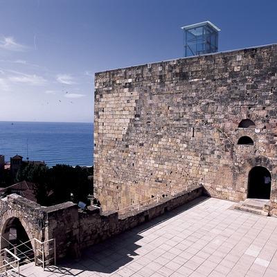 Muralla y foro romano.  (Imagen M.A.S.)