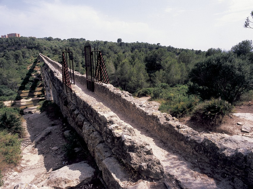 Roman aqueduct of Les Ferreres or Pont del Diable (Devil's Bridge).  (Imagen M.A.S.)
