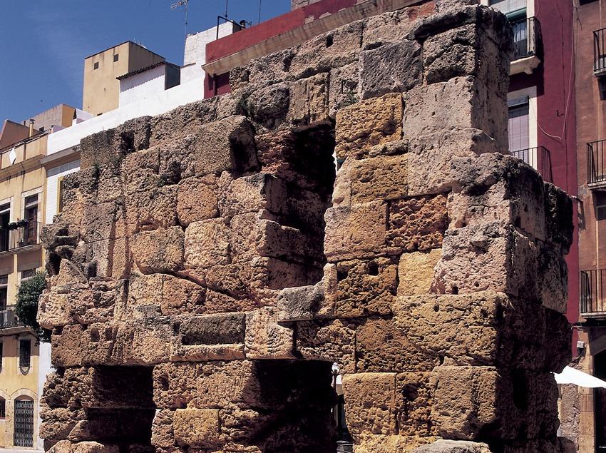 Forum provincial romain.  (Imagen M.A.S.)