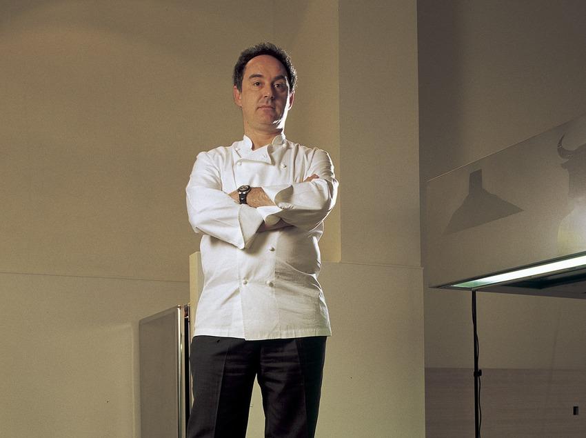 Ferran Adrià, chef del restaurante El Bulli.