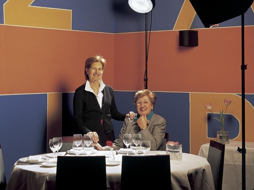 Пакита и Лолита Рейшак, шеф-повара ресторана Hispania.