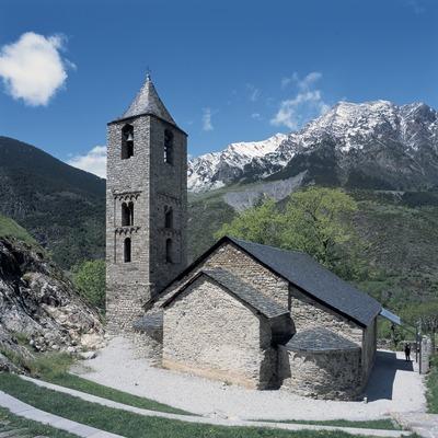 Iglesia de Sant Joan de Boí.  (Imagen M.A.S.)