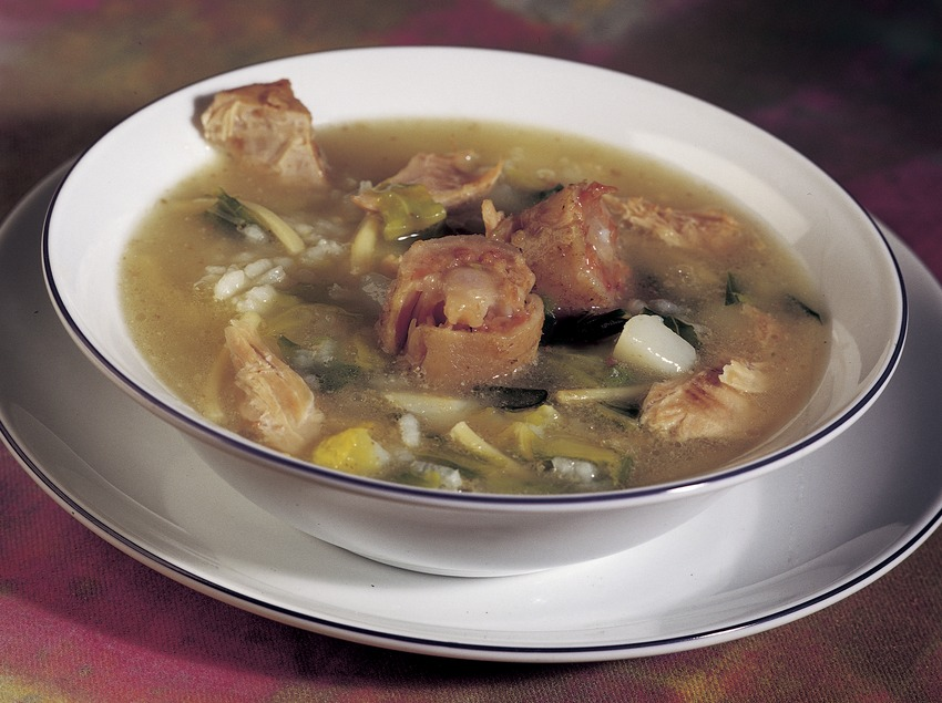 Shepherd's Escudella (Catalan stew).
