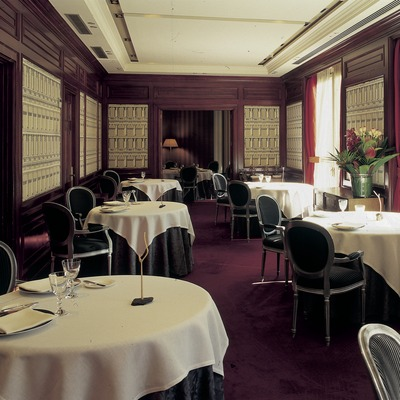 Restaurant Drolma de l'Hotel Majestic.