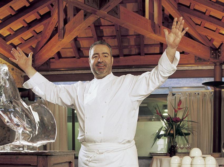 Santi Santamaría, chef del restaurante El Racó de Can Fabes.