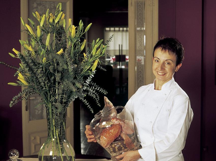 Carme Ruscadella, chef at Sant Pau Restaurant.
