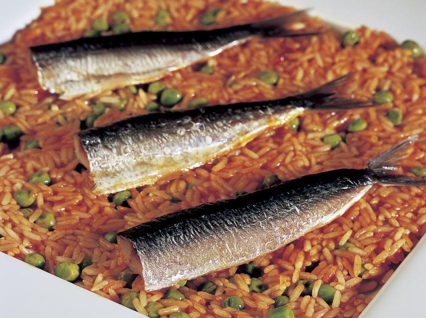 Riz aux sardines.