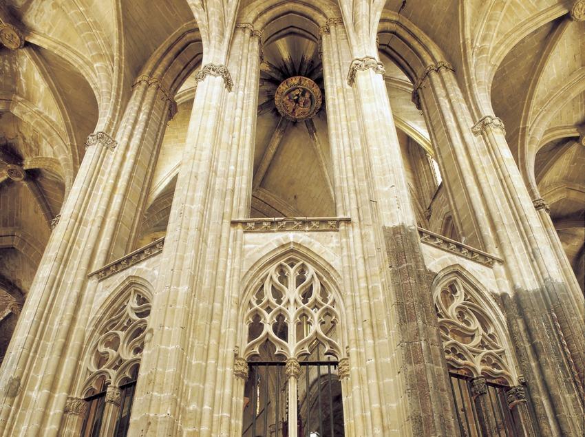 Déambulatoire double (XVe siècle). Cathédrale Santa Maria.  (Imagen M.A.S.)