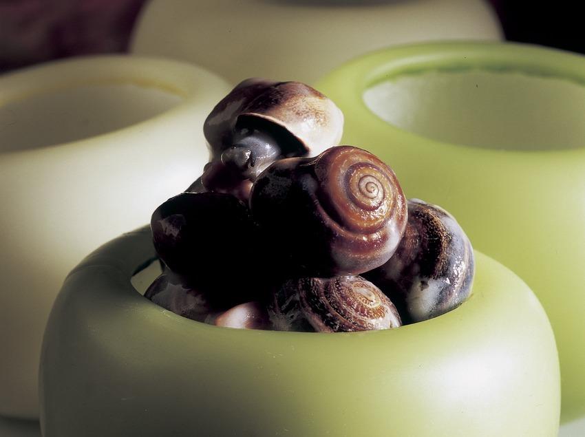 Cargols llepats (escargots en sauce).