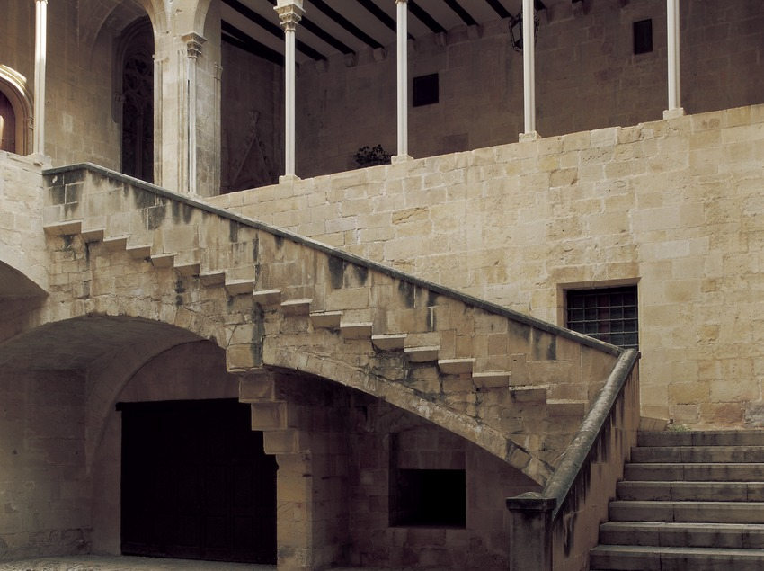 Patio del Palacio Episcopal.  (Imagen M.A.S.)