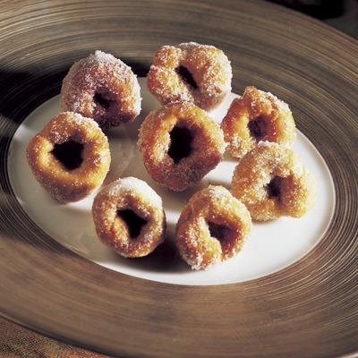 Buñuelos (doughnuts) from Empordà.