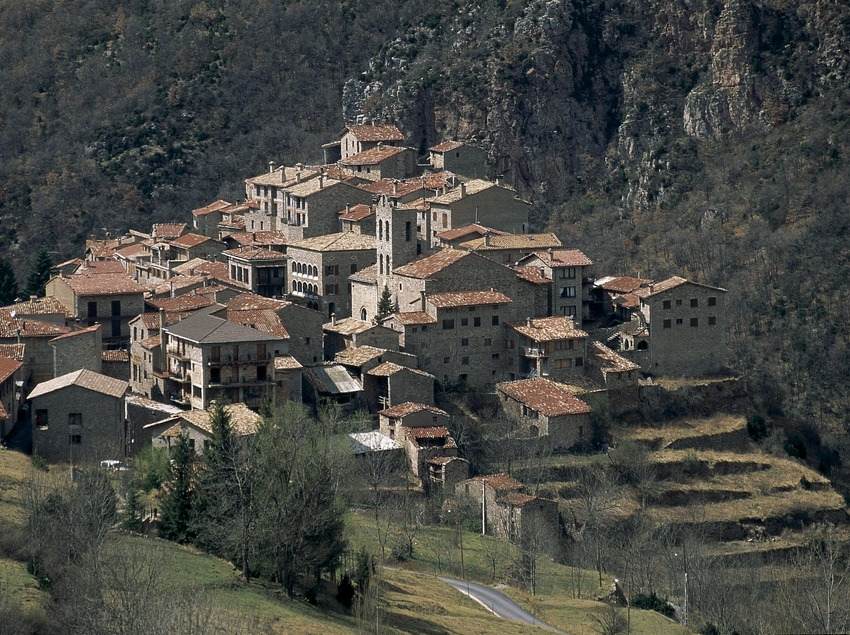 Medieval village  (Servicios Editoriales Georama)