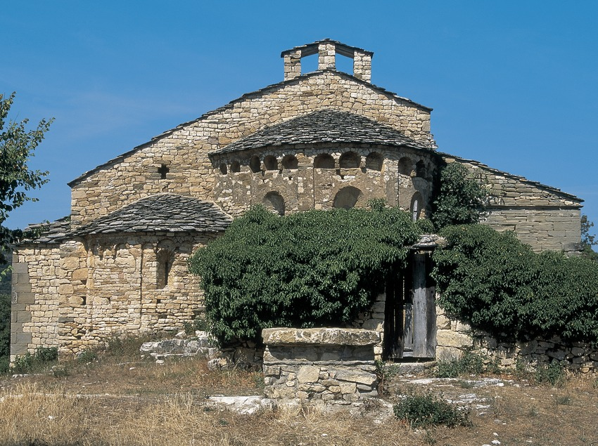 Iglesia del santuario de Santa Maria de Mur  (Servicios Editoriales Georama)