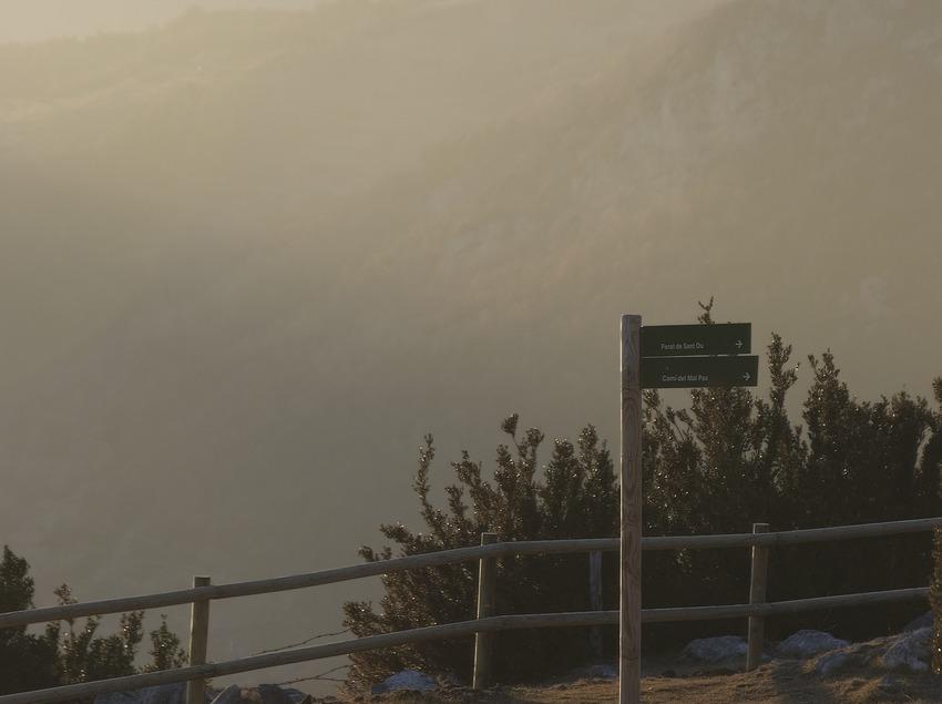 Vista de la Sierra del Cadí i el Pedraforca desde la Sierra del Montgrony  (Servicios Editoriales Georama)