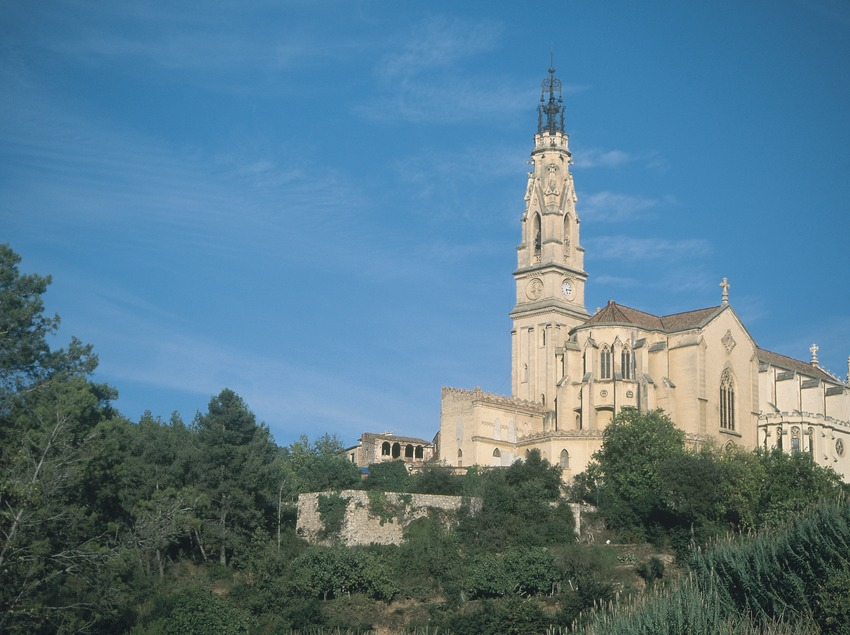 Church of Sant Esteve in Castellar del Vallès.