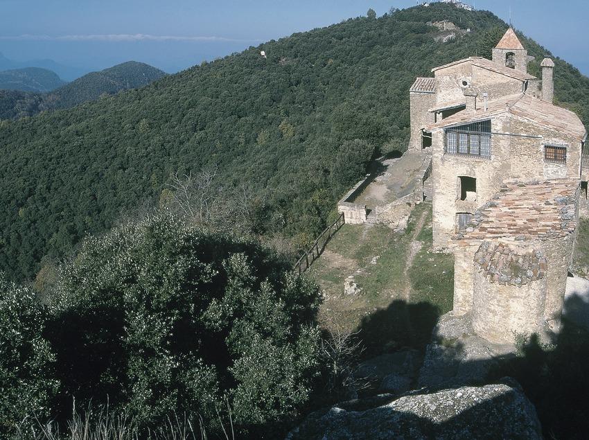 Sanctuaire de Rocacorba, ancienne chapelle de l'ancien château  (Servicios Editoriales Georama)