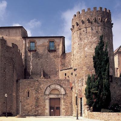 Monestir de Sant Feliu de Guíxols, seu del Museu d'Història de la Ciutat  (Imagen M.A.S.)