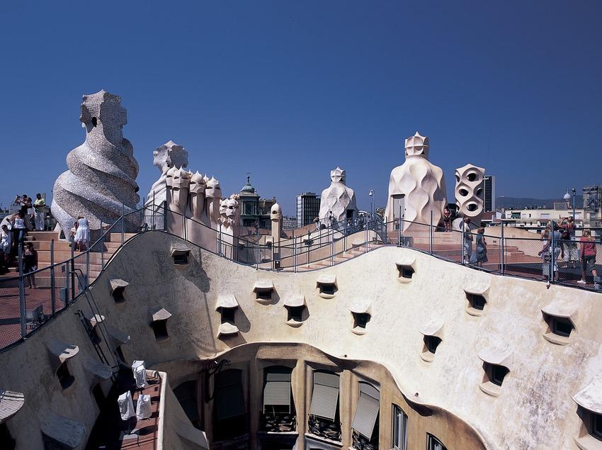 Terrat de la Casa Milà, La Pedrera. (Imagen M.A.S.)