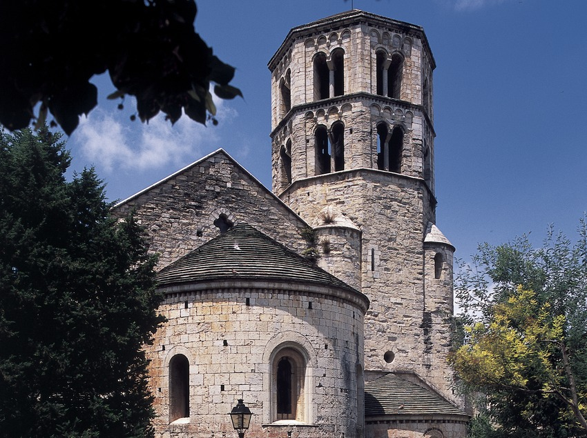Monastery of Sant Pere de Galligants.  (Imagen M.A.S.)