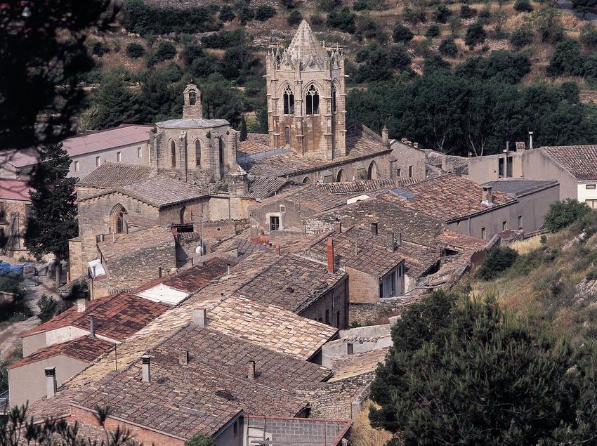 Reial Monestir de Santa Maria de Vallbona.  (Imagen M.A.S.)