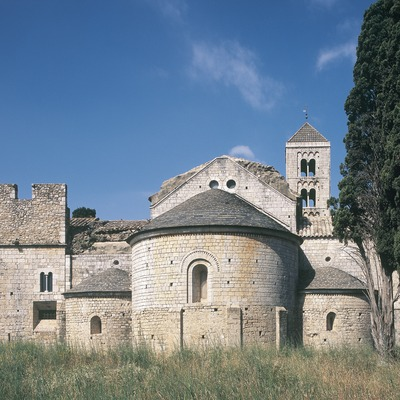 Canònica de Santa Maria de Vilabertran.  (Imagen M.A.S.)