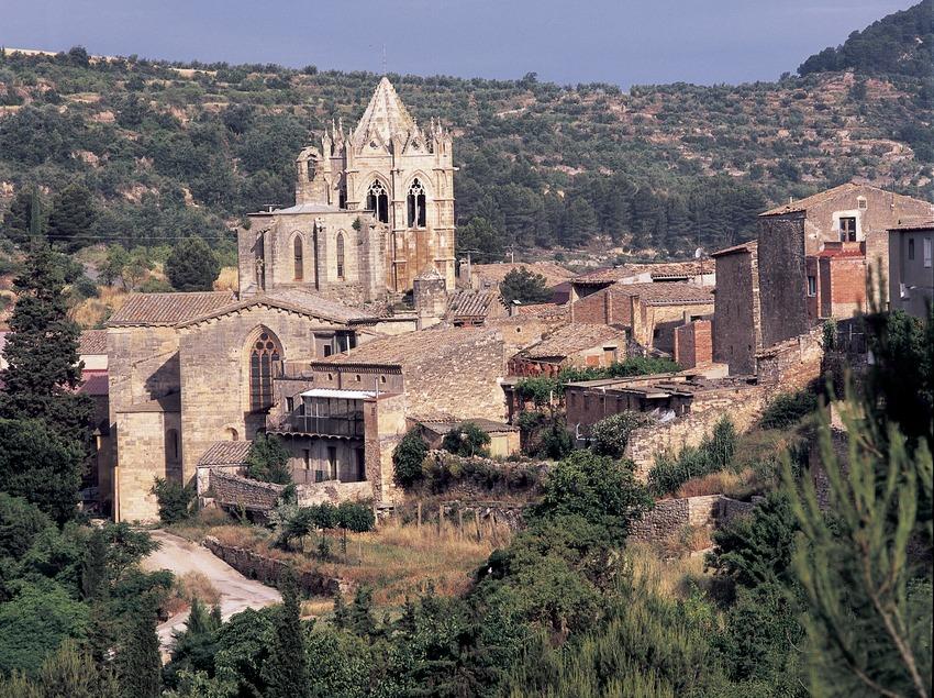 Real Monasterio de Santa Maria de Vallbona.  (Imagen M.A.S.)