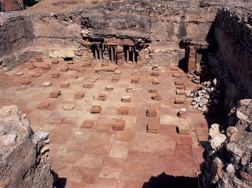 Thermal baths of the villa of Els Munts.  (Imagen M.A.S.)