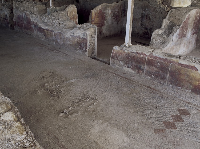 Crypto portico of the villa of Els Munts.  (Imagen M.A.S.)