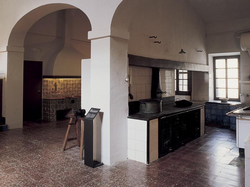 Cocina del monasterio de Pedralbes. (Imagen M.A.S.)