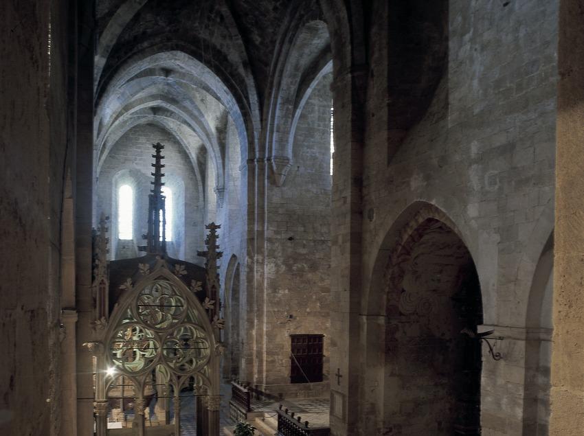 Iglesia del Real Monasterio de Santes Creus.  (Imagen M.A.S.)