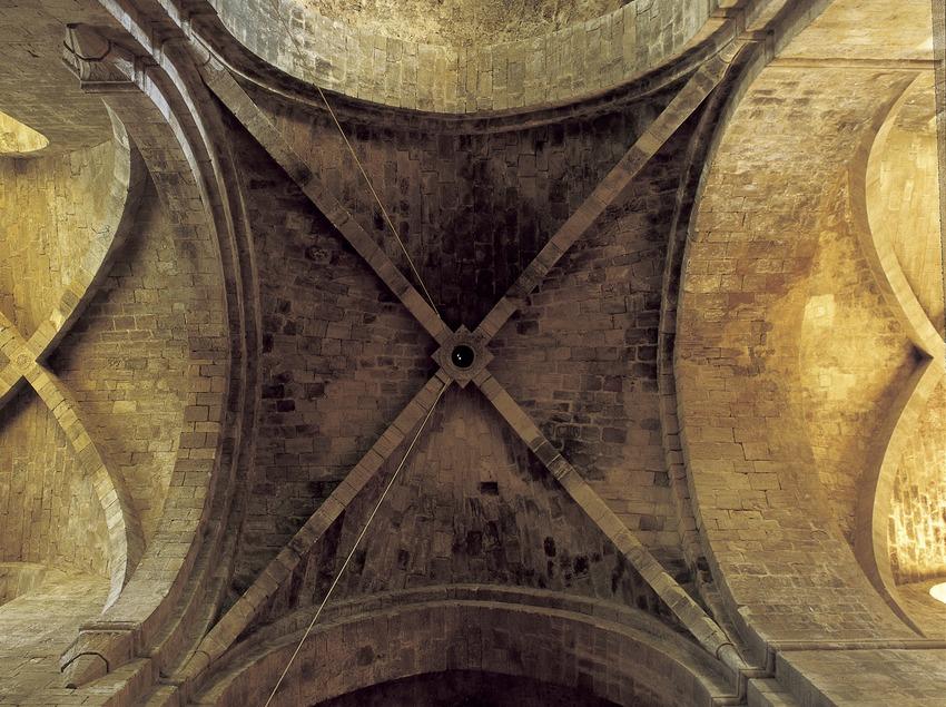 Creuer de l'església del Reial Monestir de Santes Creus.  (Imagen M.A.S.)