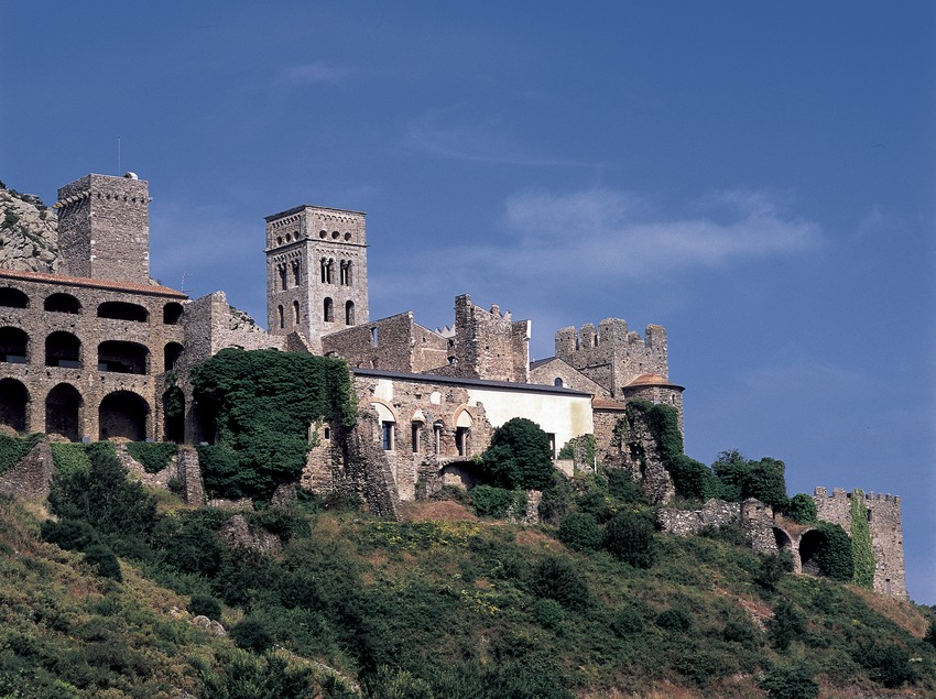 Monasterio de Sant Pere de Rodes  (Imagen M.A.S.)