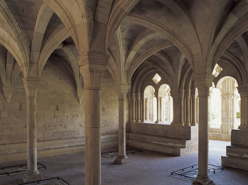 Chapter house of the Royal Monastery of Santes Creus.  (Imagen M.A.S.)
