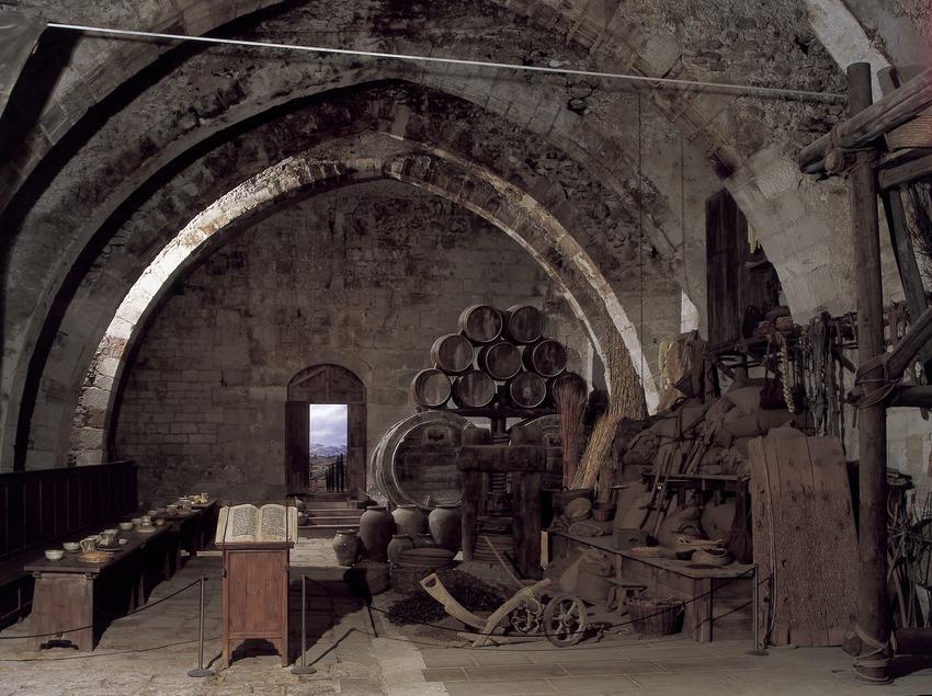 Refectory of the Royal Monastery of Santes Creus  (Imagen M.A.S.)