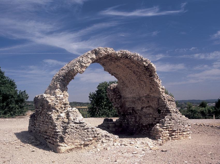 Dipòsit d'aigua La Tartana de la vil·la d'Els Munts.  (Imagen M.A.S.)