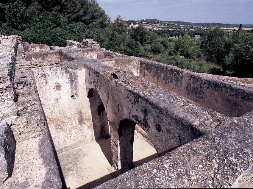Water storage tank of Els Munts villa.  (Imagen M.A.S.)