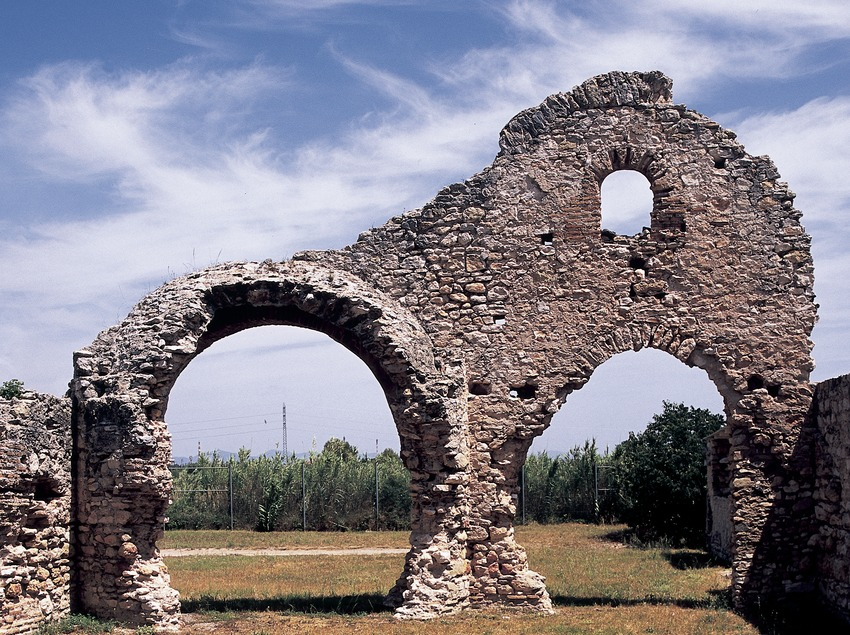 Thermal baths (tepidarium) of the Centcelles villa  (Imagen M.A.S.)