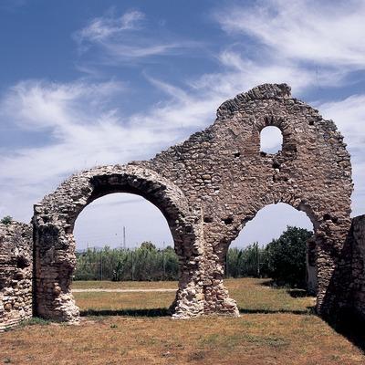 Termes (tepidarium) de la vil·la de Centcelles  (Imagen M.A.S.)
