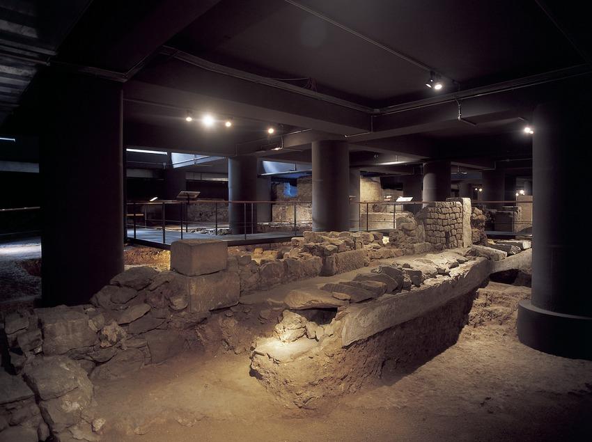Restos arqueológicos de la ciudad romana. Museo de Historia de la Ciudad.  (Imagen M.A.S.)