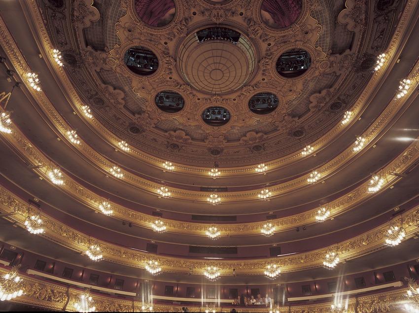 Vista posterior i sostre del Gran Teatre del Liceu.
