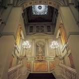 Staircase of the Gran Teatre del Liceu opera house.  (Imagen M.A.S.)
